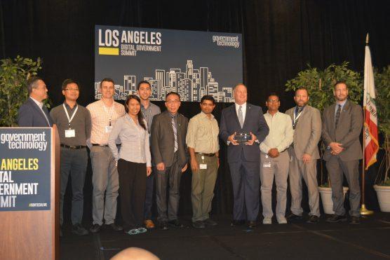 County Assessor Jeffrey Prang tech award