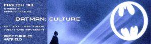 CSUN Batman pop culture course