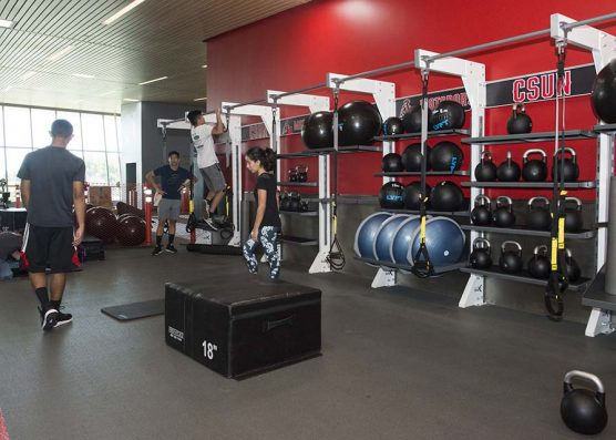 CSUN Student Center weights