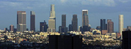 Downtown Los Angeles skyline. | Photo:  Thomas Pintaric