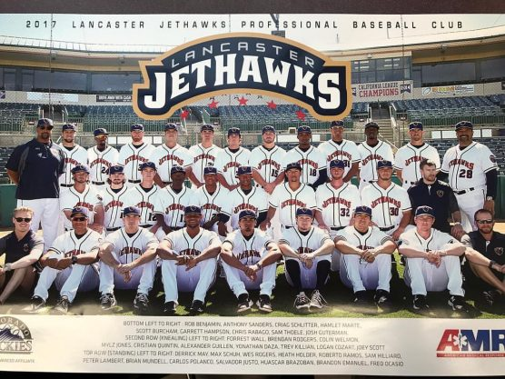Lancaster JetHawks team photo 2017
