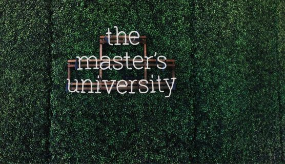 The Master's University grass logo