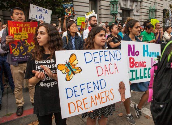 DACA rally, San Francisco, September 5, 2017. Photo: Pax Ahimsa Gethen/WMC