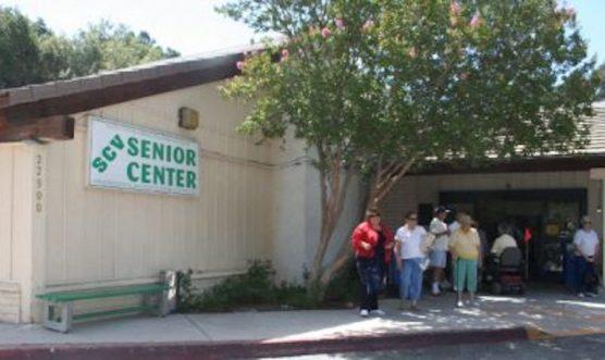 former SCV senior center building