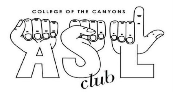 American Sign Language club logo