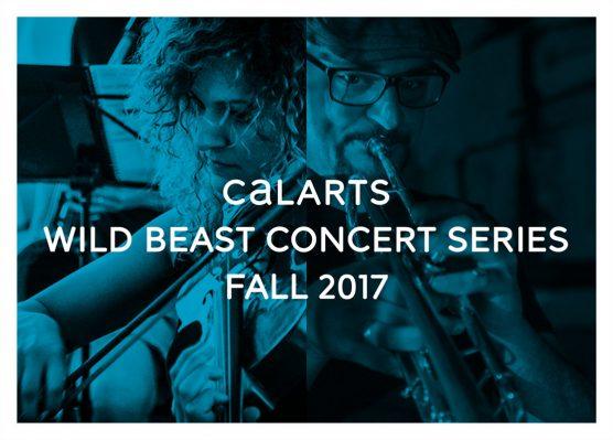 CalArts Wild Beast Concert Series logo