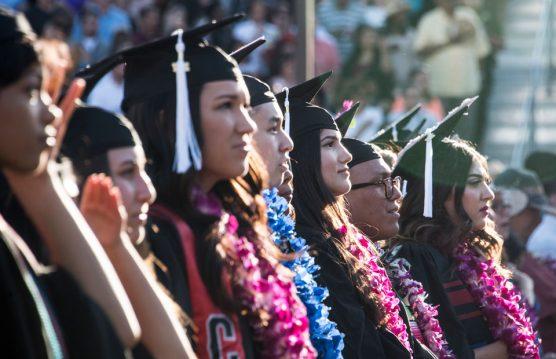 California State University, Northridge students at graduation