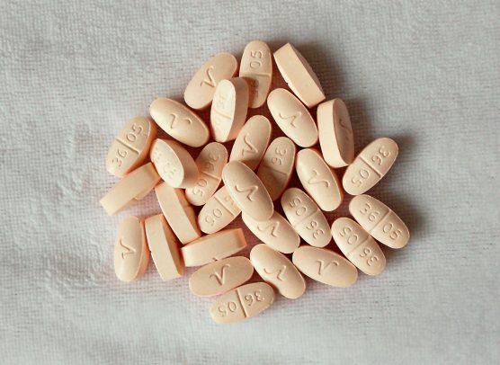 Hydrocodone pills - opioid