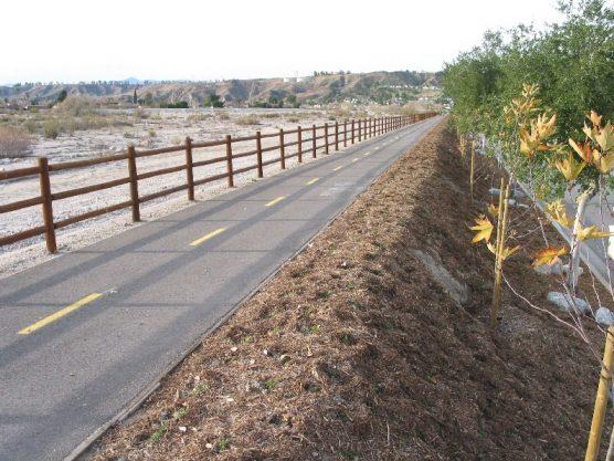 Santa Clarita bike trail file photo