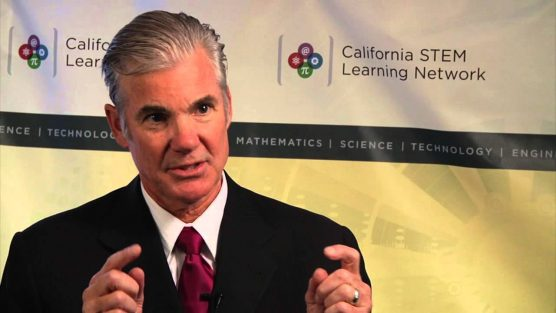 California Superintendent of Schools Tom Torlakson