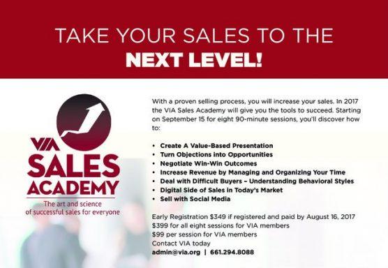 VIA Sales Academy 2017