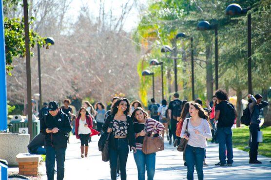CSUN students - union