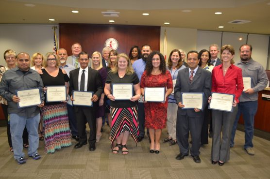 Hart Employees Honored