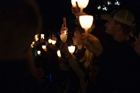 candlelight vigil - file photo