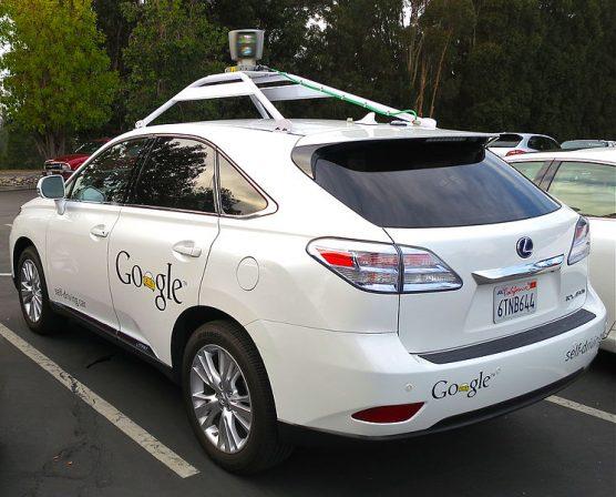 Google Lexus autonmous vehicle | Photo: Steve Jurvetson/Wikimedia Commons
