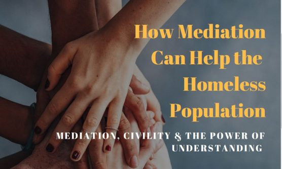 Mediation roundtable about helping homeless population