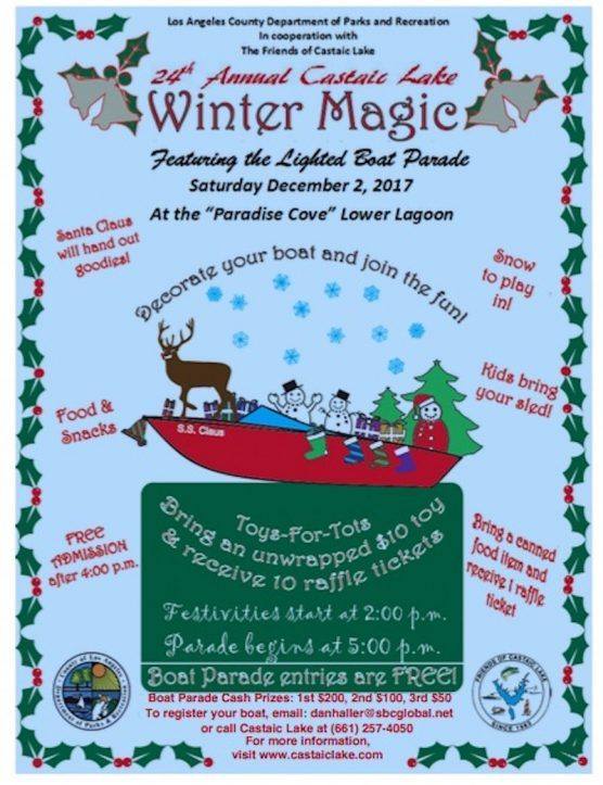 Castaic Lake Holiday Boat Show