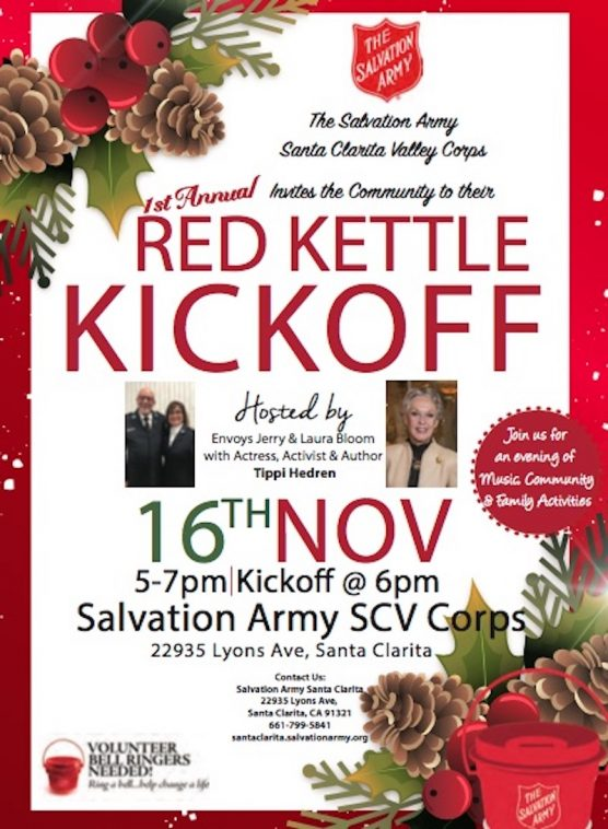 Salvation Army SCV Red Kettle Kickoff
