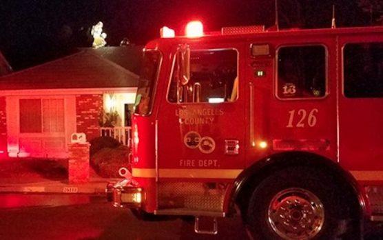 Valencia House Fire