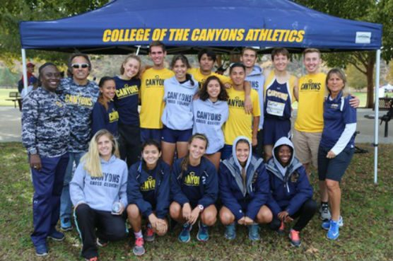 College of the Canyons cross country