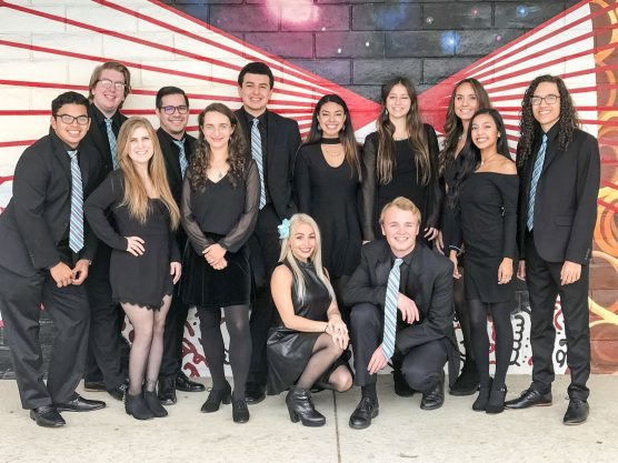 College of the Canyons jazz ensemble Just Jazz