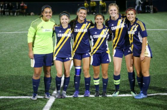 College of the Canyons women's soccer team 2017