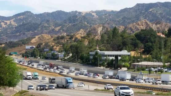 Interstate 5 in Santa Clarita - file photo