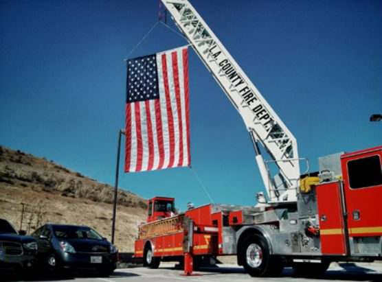 L.A. County Fire truck file - station fire