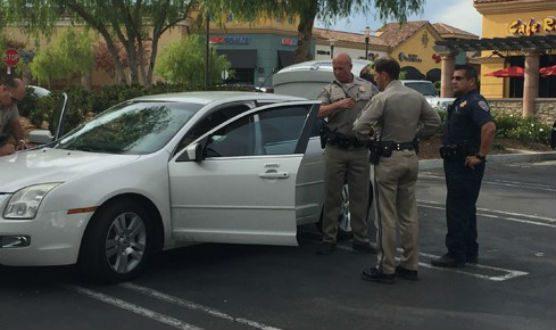 LAPD CHP pursuit to Valencia