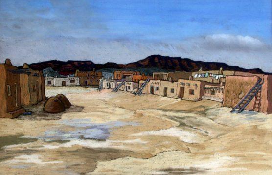 Jemez Pueblo, First look by Helmut Naumer Sr. | Library of Congress