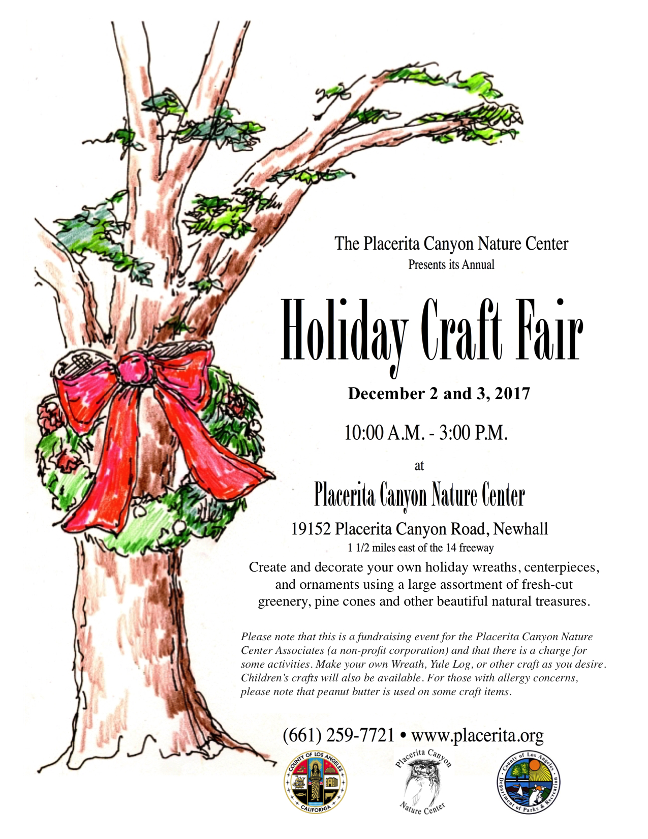 Placerita Nature Center Craft Fair