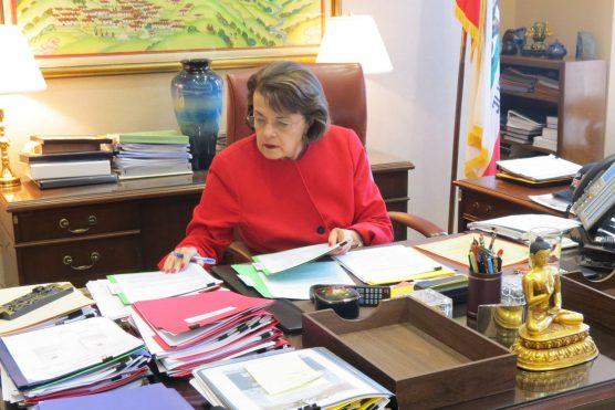 Senator Dianne Feinstein (D-Calif.)