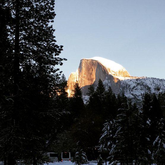 Half Dome at Yosemite National Park in California in winter. | Photo: William Dotinga (CNS)