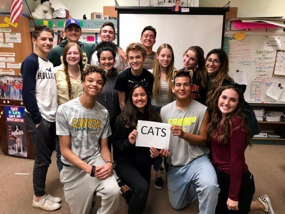 Canyon High School Safe Schools Ambassadors 12-18-17