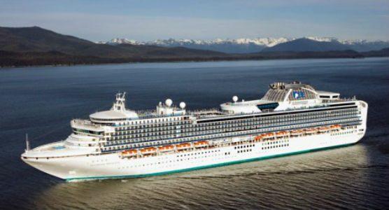 Princess Cruises' Diamond Princess on an earlier voyage.