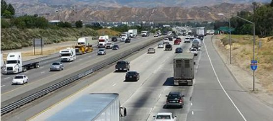 Caltrans I-5 repaving project in Santa Clarita Valley