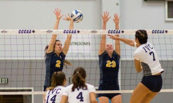 COC volleyball team in playoffs with Irvine Valley
