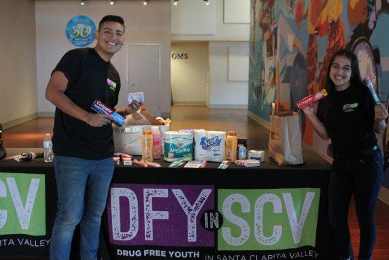 DFY in SCV toiletries drive