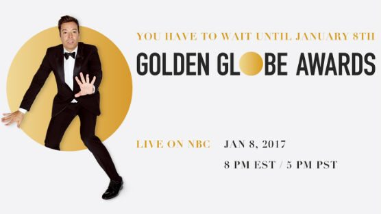 75th Golden Globes banner