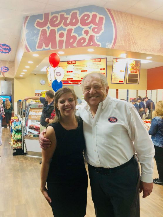 Kyanna Isaacson and Steve Youlios, Jersey Mike's