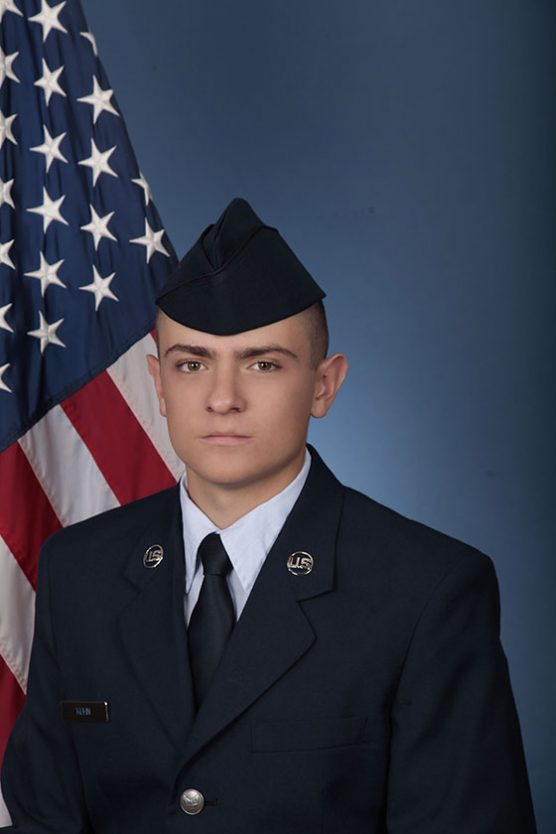 USAF Airman Anthony Kuhn of Santa Clarita