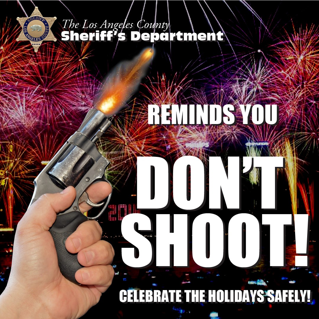 Sheriff: 'Don't Shoot' Guns Into The Air On