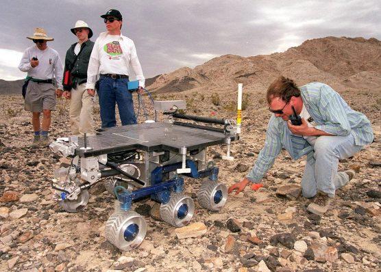 Mike Garrett, NASA JPL Mars rover