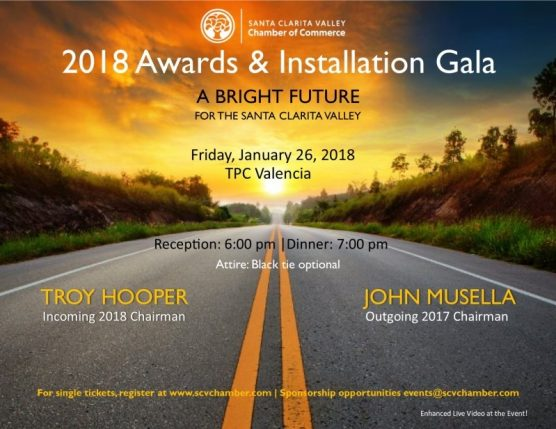 SCV Chamber 2018 awards and installation