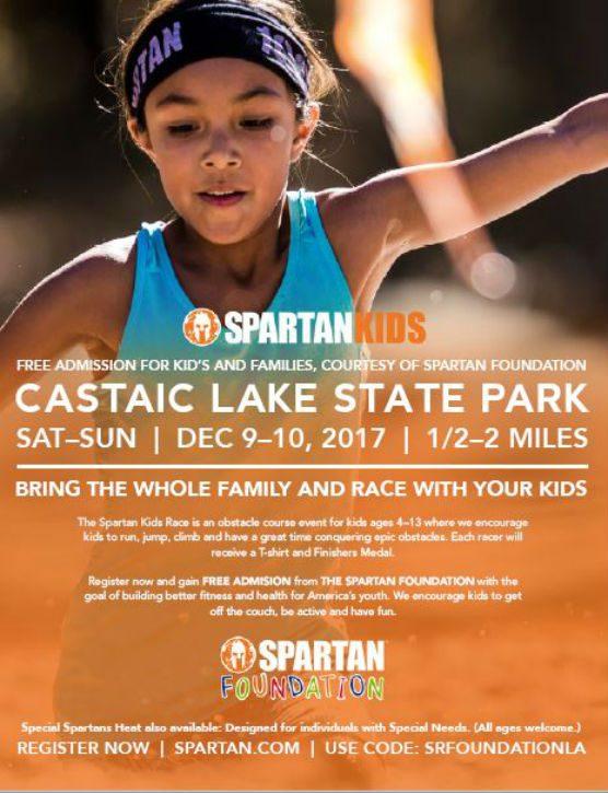 Spartan Kids Race Castaic