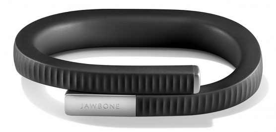 A tracking bracelet by Jawbone