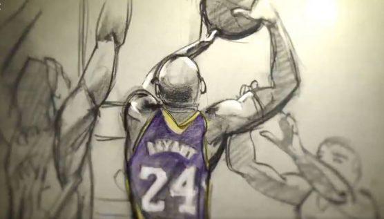 Kobe Bryant - Dear Basketball CalArts Oscar winning short animated film