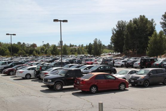 College of the Canyons parking lot