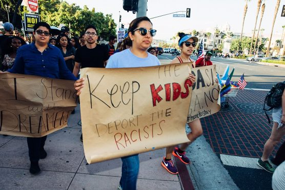 DACA marchers in Los Angeles September 5, 2017. | Photo: Molly Adams-WMC.