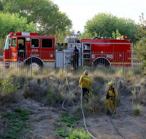 Brush fire - file photo